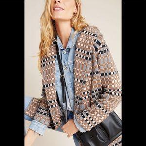 Anthropologie Josefa Wool Sweater Coat
